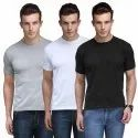 200 GSM Mens Half Sleeves T Shirt