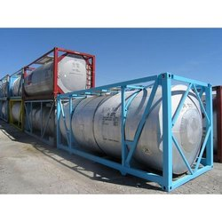 Stainless Steel 20 feet ISO Tank Container, For Storage, Capacity: 20-30 ton