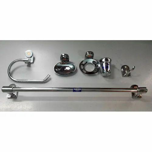 Sns Ss Bathroom Accessories Set Rs 1160 Set Kabir Enterprises Id 15009044348
