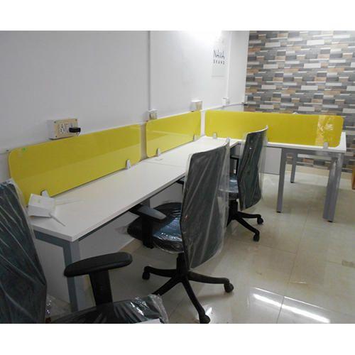 Smart Desk 10 X Feet Modular Office Cabin