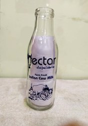 500 Ml Milk Bottles Single Colour Printing, Print Size: 33, Online