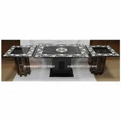 Stone Inlay Mother of Pearl Tables