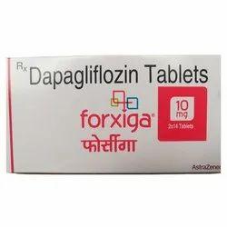 Dapagliflozin Forxiga Tablets, AstraZeneca