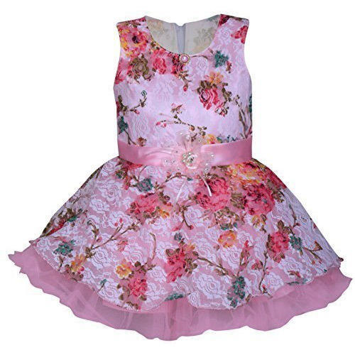3f5d528e496c Multicolor Party Wear Baby Girl Frock