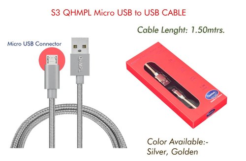 S3 USB to Micro Cable