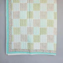 Checkered Hand Block Quilt