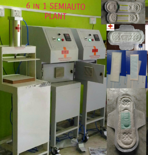 Sanitary Napkin manufacturing machine in india