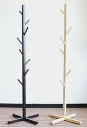 IWC Solid Wood Wooden Coat Hat Stand, For Supermarket, Size: User Defined