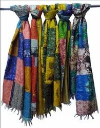 Silk Scarf Traditional Printed Scarf