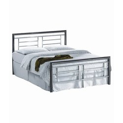 Daniels Furniture Powder Coated Stainless Steel Bed