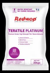 Teratile Platinum - High Polymer Modified Tile Adhesive- Grey / White