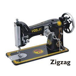 Manual Pooja Zig Zag Sewing Machine
