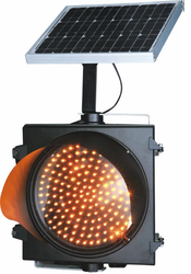 Solar Powered Traffic Signal Blinker