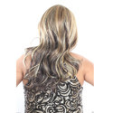 Highlight Brown Blonde Mixed Color Hair Wig