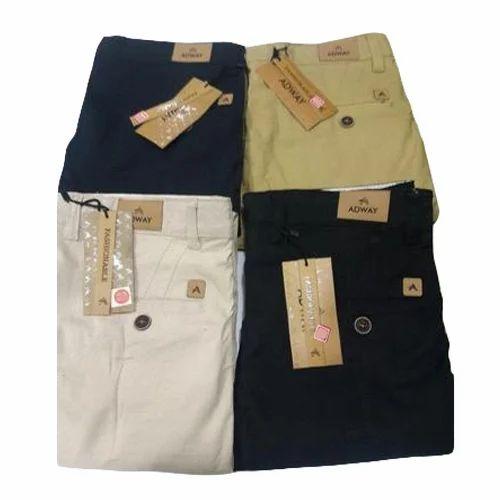 30c0630fb Mens Plain Casual Trouser