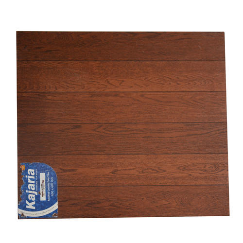 Kajaria Brown Wood Floor Tile Size