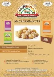 Macadamia Nuts, Packaging Type: Pouch