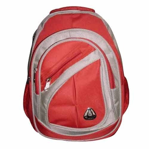9a438a401db8 Red Fancy College Bag