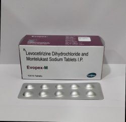 Levocetirizine Dihydrochloride and Montelukast Sodium Tablets IP for Hospital