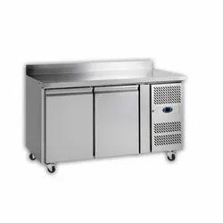 2 Door Table Top Undercounter Refrigerator