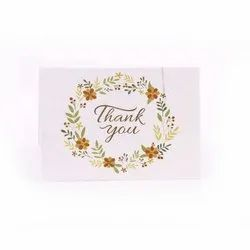 Floral Plantable Seed Paper Thankyou Cards