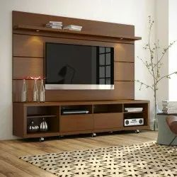 TV Unit Wall Panelling Woork