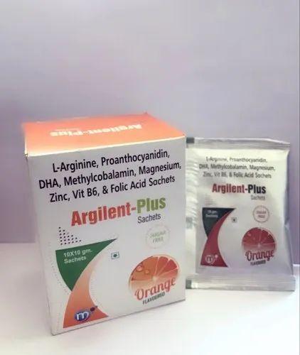 L-Arginine, Proanthocyanidin, DHA, Methylcobalamin, Magnesium Sachet