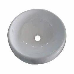White Ceramic Tessa Wash Basin