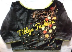 Machine Embroidery Blouses