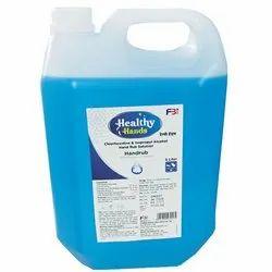 5 Liter Chlorhexidine And Isopropyl Alcohol Hand Rub Solution