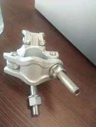 Silver German Coupler Right Angle, Shape: Round