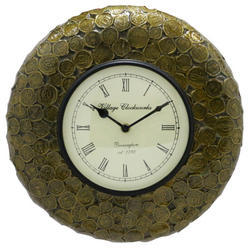 A Beautiful Small Coin Handmade Clock