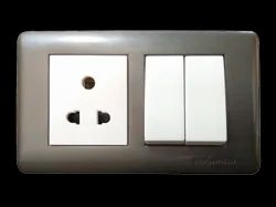 220 V Electric Switch, Switch Size: 3 Module, 6A
