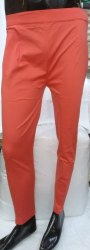 Orange Formal Ladies Cigarette Pants