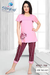 Women Cotton Capri