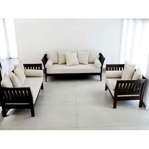 Modular Wooden Sofa Set, Wooden Sofa Set - Home Style Sofa Makers ...