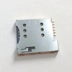 6 Pin Micro Sim Card Holder
