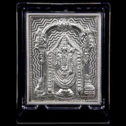 Silver Balaji Frame, For Gift