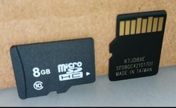 SD Memory Card, Size: 8GB