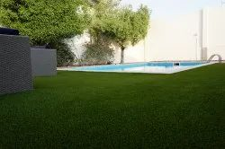 25 mm Silver High Quality Artificial Grass