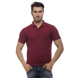 Maroon Mens T Shirt