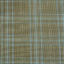 Linen Stripe Check Fabric
