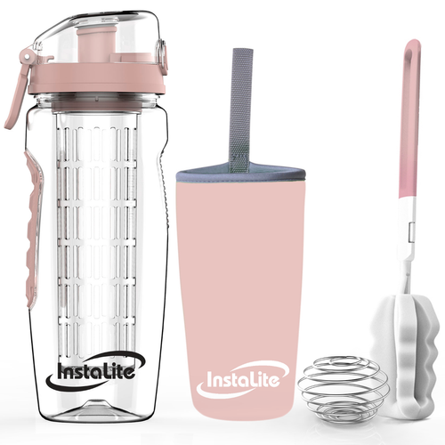 33bcdafbad Instalite Fruit Infuser Rose Gold Water Bottle, Capacity: 1 Litre ...