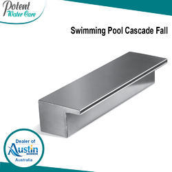 Swimming Pool Cascade Fall