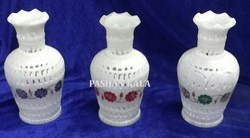 Marble Inlay Bud Vase