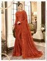 Festive Wear Designer Embroidery Georgette Sarees