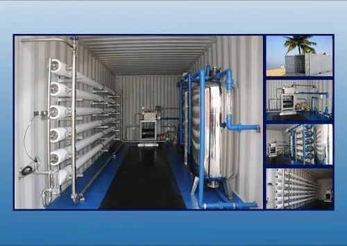 Mobile Container Water Purification System