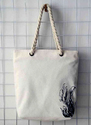 Twisted Rope Handle Cotton Bag