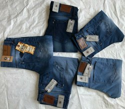 Slim Fit Denim Mens Blue Bond Jeans