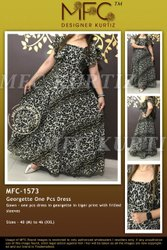 MFC 1573 GEORGETTE ONE OCS DRESS